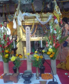 インド大菩提寺法要